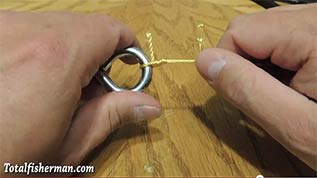 How to tie the Improved Clinch Knot