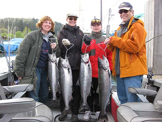 Spring Chinook Salmon Fishing Tips and Techniques
